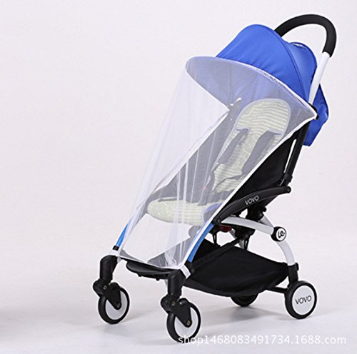 SS-Versatile baby stroller/car/bike/stroller accessory small nets , white