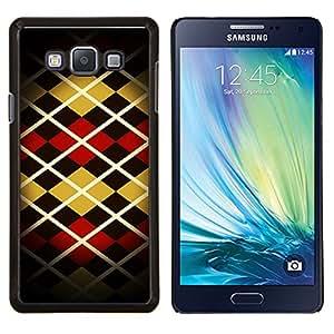 LECELL--Funda protectora / Cubierta / Piel For Samsung Galaxy A7 A7000 -- Patrón Arte Diseño Rayas Estilo Moda --