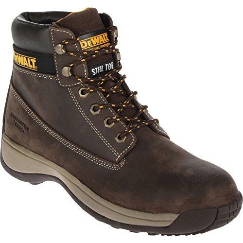 DeWalt Apprentice Nubuck Safety Work Boots Brown Size 11