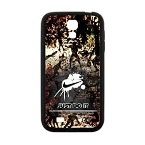Nike Just Do It Stylish Camo Case for SamSung Galaxy S4 I9500 (Laser Technology)