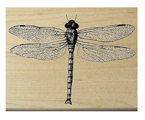 Dragonfly rubber stamp WM P11