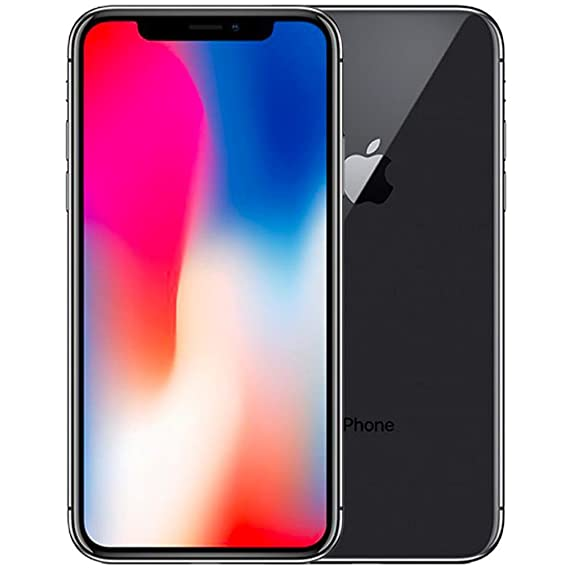 size 40 03510 a6a35 Amazon.com: Apple iPhone X ‑ 64 GB ‑ Space Gray ‑ Unlocked ‑ GSM ...