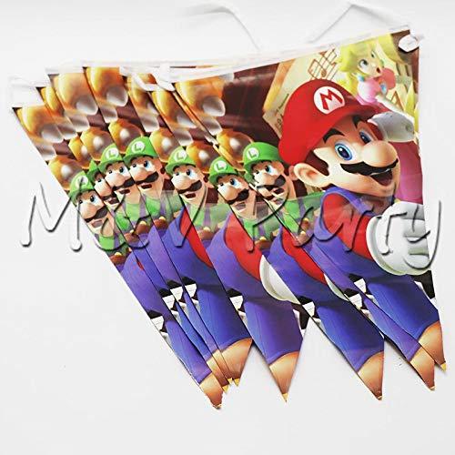 YUWANW - Platos de frutas desechables con diseño de Mario ...