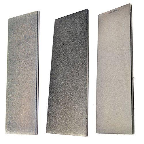 3pc Professional Diamond Sharpening Stone 6' Extra Fine / Fine / Coarse