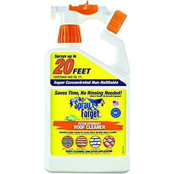 Spray Amp Forget Revolutionary Roof Cleaner With Hose End