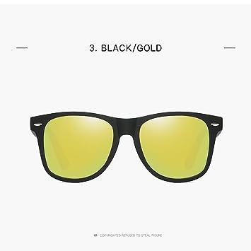 8514924c00 wo nice Las Gafas de Sol polarizadas clásicas Masculinas deslumbran al  Conductor Retro de Las Gafas de Sol de Dama de Color.: Amazon.es:  Electrónica