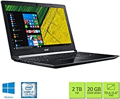 "Acer A515-51G-70UP Intel core i7 20GB RAM 2TB HD GeForce® 940MX 2 GB 15.6"" Full HD Windows 10"