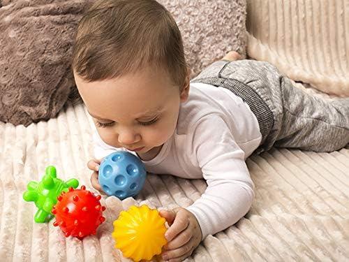 Fabriqu/é en UE SZO 5 Balles Sensorielles 10 Ans de Garantie Multicolore Mati/ères premi/ères certifi/ées de la Plus Haute qualit/é