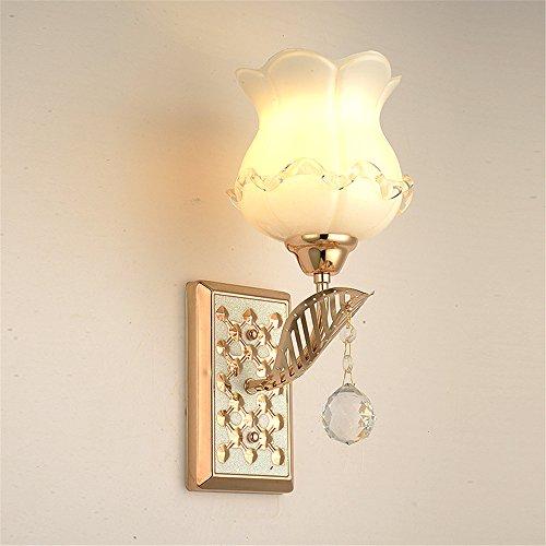 Hotel Wall Lamp Led Modern Simple European-Style Hotel Living Room Corridor Bedroom Bedside Single Head Lamps, 130mm330mm