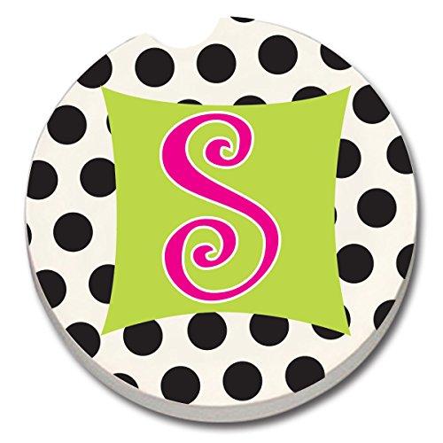 CounterArt Absorbent Stoneware Coaster Monogrammed