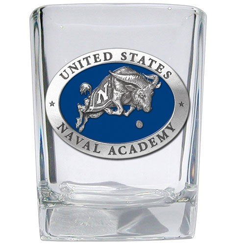 United States Naval Academy Square Shot - Set of 2