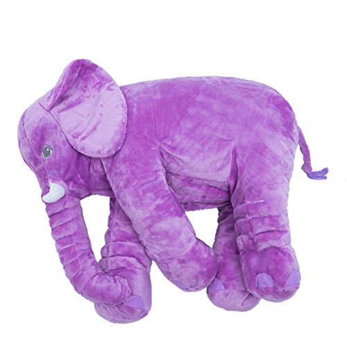 Gardenasebi Stuffed Animal Elephant Plush Toys 24 Inch Purple