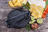 Victoria 8 Inch Cast Iron Tortilla