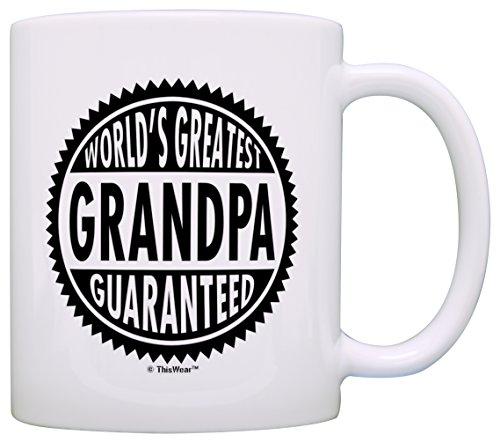 Fathers Grandpa Worlds Greatest Guaranteed
