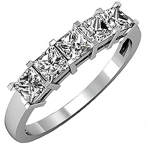 1.01 Ct Princess Diamond - 1