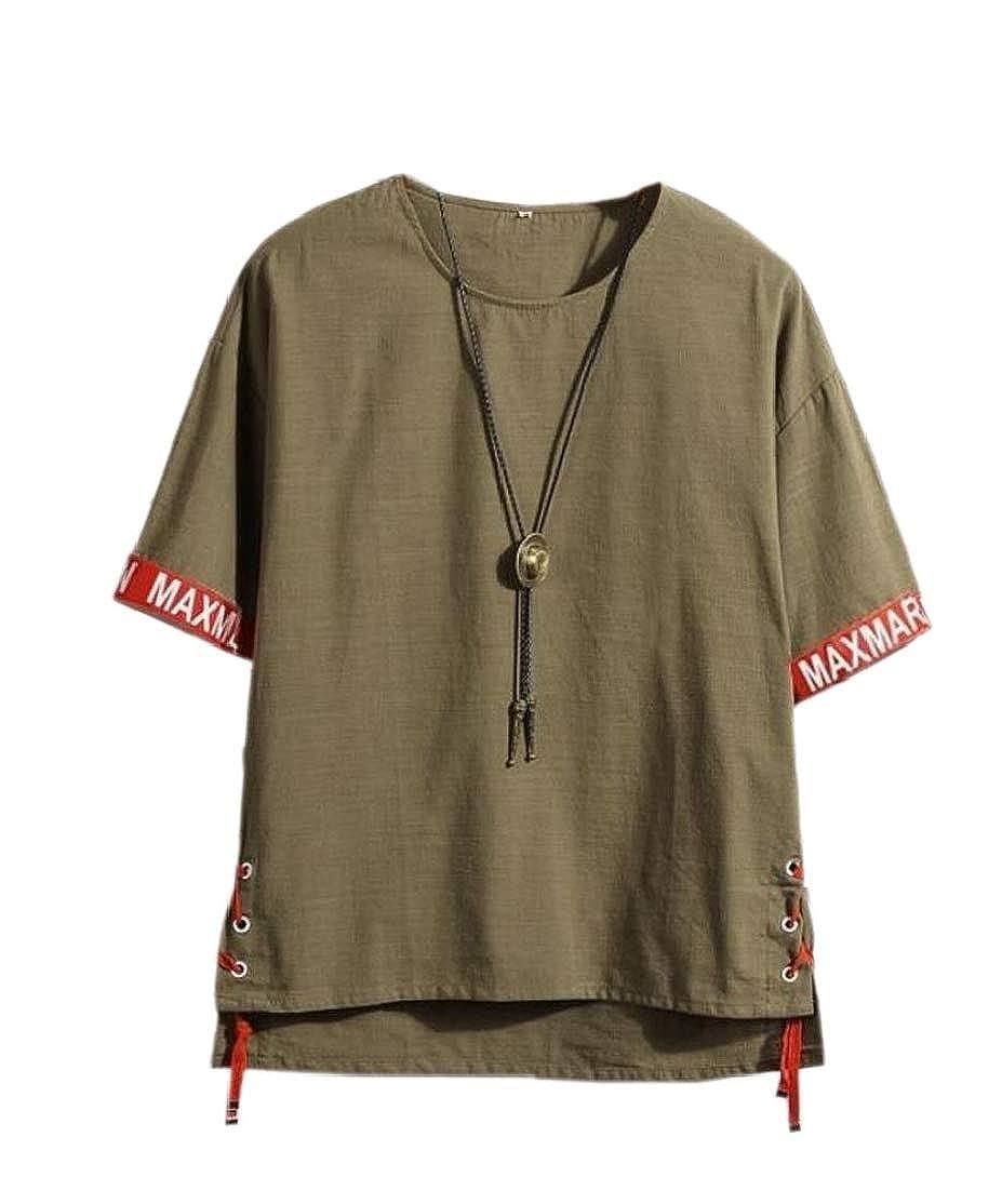 CYJ-shiba Mens T-Shirt Slim Fit Casual Short-Sleeve Loose Print Tees