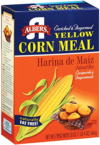 Albers Yellow Corn Meal, 20 ounce (Continental Mills)