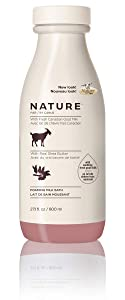 Nature by Canus Foaming Milk Bath with Fresh Canadian Goat Milk, Real Shea Butter, 27.1 Fluid Ounce