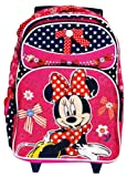 Disney's Minnie Mouse Rolling BackPack – Minnie Mouse Rolling School Bag Large, Bags Central