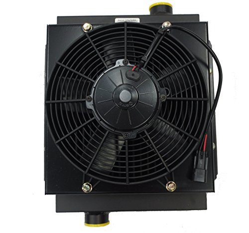 NEW Mobile Hydraulic Oil Cooler DC12V-12 w/12V Fan Replaces Cool-Line -