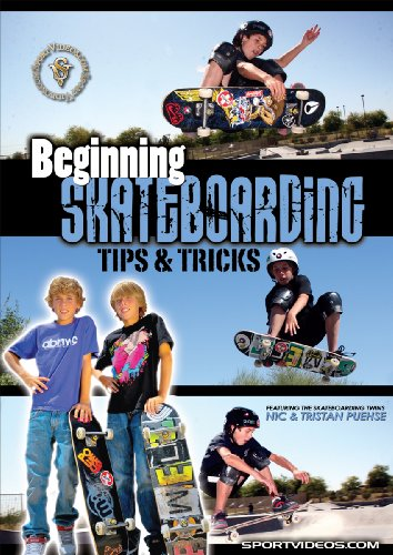 (Beginning Skateboarding: Tips and Tricks DVD featuring Nic and Tristan Puehse)