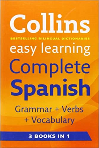 Easy Learning Complete Spanish Grammar, Verbs and Vocabulary (3