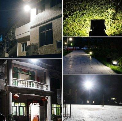 54 LED Solar Power Dusk-to-Dawn Sensor Lights Outdoor Garden Pathway Wall Security Light Solar Lawn Flood Lamps Waterproof