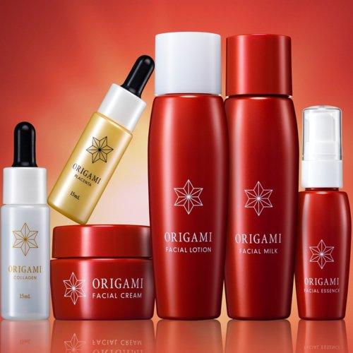 ORIGAMI 6点セット コラーゲン原液と発酵プラセンタ原液も含めたオールインワンセット B077TLV1NQ