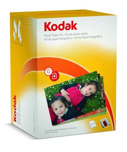 Kodak G200 - Papel fotográfico para impresora G610 (200 ...