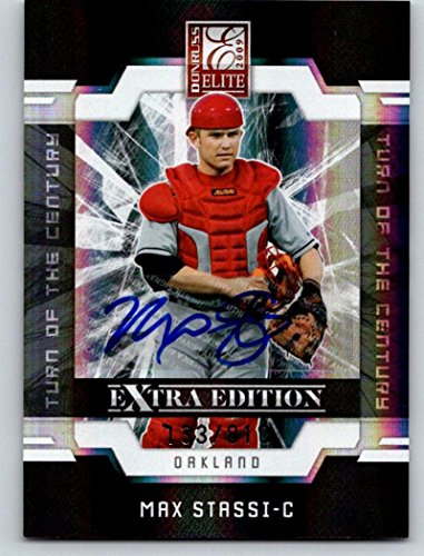2009 Donruss Elite Extra Edition Signature Auto Max Stassi 133/810 03549