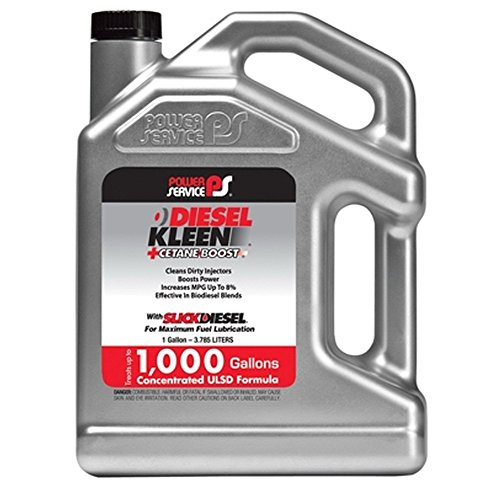 Power Service 03128-04 Diesel Kleen with Concentrated Cetane Boost Formula - 1 Gallon
