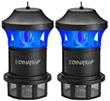 Dynatrap DT1775 Insect & Mosquito Trap, Black (Pack of 2)