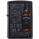 Zippo 60.002.093 Feuerzeug Jack Daniels Collection Spring 2016, schwarz matte