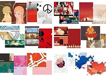 Ichiban kuji premium Kizumonogatari passionate hen F Prize Clear File Set a