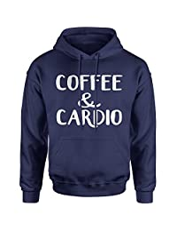Expression Tees Coffee And Cardio Unisex Adult Hoodie