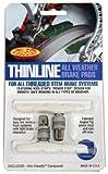 Kool Stop Thinline Threaded Brake Pad (White)