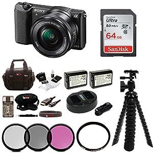 Sony Alpha a5100 Mirrorless Digital Camera Bundles
