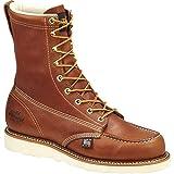 Thorogood 804-4478 Men's American Heritage 8'' Moc Toe, MAXwear Wedge Safety Toe, Trail Crazyhorse - 11.5 D US