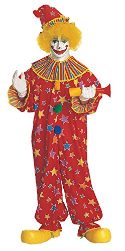 UHC Clown Jumpsuit Comical Funny Dress Theme Party Adult Halloween Costume, OS ()