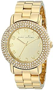 Marc by Marc Jacobs Women's MBM3191 Marci Stainless Steel Watch with Link Bracelet