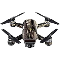 Skin For DJI Spark Mini Drone – Tree Camo | MightySkins Protective, Durable, and Unique Vinyl Decal wrap cover | Easy To Apply, Remove, and Change Styles | Made in the USA