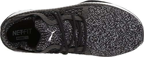 PUMA Men's Tsugi Netfit Evoknit Black White 8 D US get authentic comfortable sale online QkQPy
