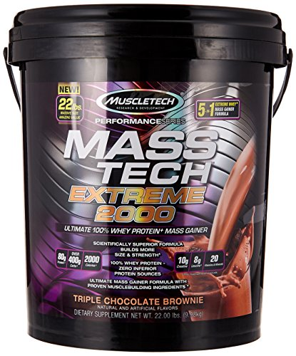 MuscleTech Extreme Triple Chocolate Brownie
