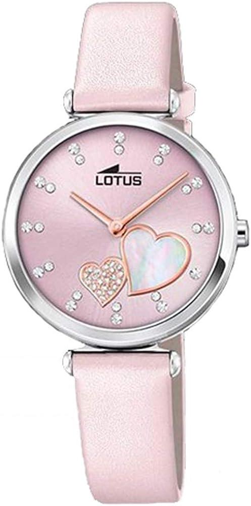 Lotus 18617/2 - Reloj Analógico para Mujer, de Cuarzo con Correa en Cuero