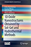 Book cover image for 1D Oxide Nanostructures Obtained by Sol-Gel and Hydrothermal Methods (SpringerBriefs in Materials)