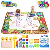 Conthfut Water Drawing mat Aqua Magic Dinosaur Play Doodle mat, 39.5
