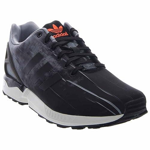 low priced c01ad dd1a1 ... get adidas zx flux grey black vintage white 10.5 d us 5c043 a58d5