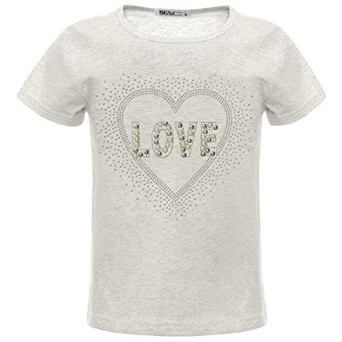 BEZLIT Meisjes T-shirt leuke motieven 22541