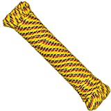 SteadMax 100 ft Multicolor 1/4 inch Nylon