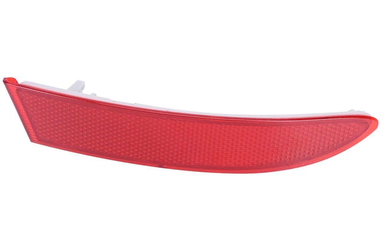 Bapmic 63147217315 Rear Left Red Bumper Reflector for BMW F25 X3 2011-2017